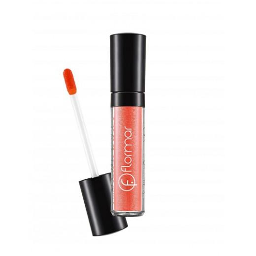 Flormar Long Wearing - Deep Apricot Lip Gloss