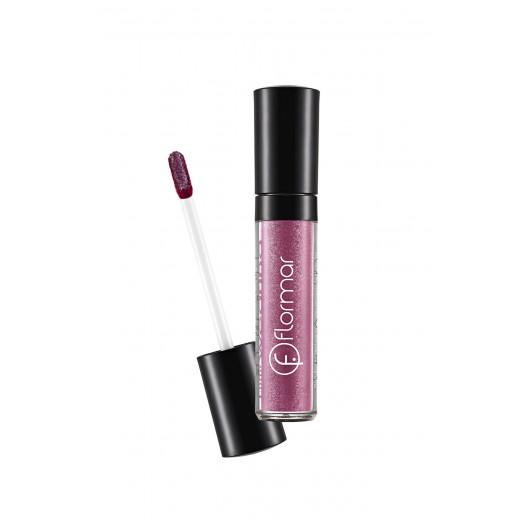 Flormar – Long Wearing Lip Gloss -L413 Maroon Silver