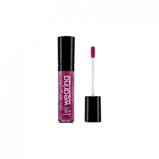 Flormar – Long Wearing Lip Gloss -L414 Deep Aubergine