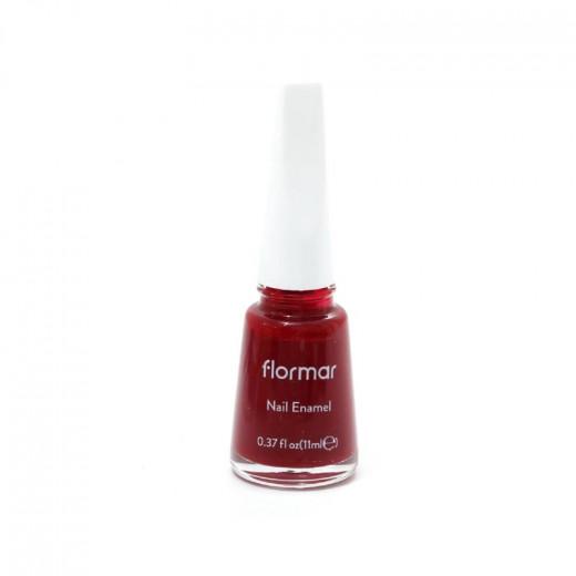Flormar Polish Nail Enamel 128 Bordeaux scream