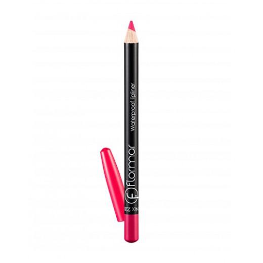 Flormar - Waterproof Lipliner Pencil 228 Saturated Pink