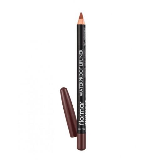Flormar - Waterproof Lipliner Pencil 243 Hot Cocoa