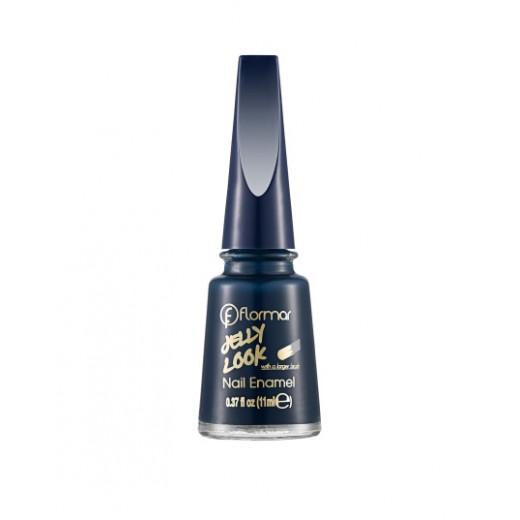 Flormar - Jelly Look Nail Enamel JL18 Ocean Blue