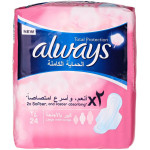 Always Total Protection Large With Wings 24 Pad