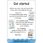 Miles Kelly - Flashcards Computing: 100 Double-Sided Wipe Clean Learn to Code Cards