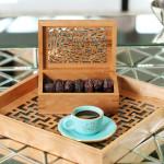 Calligraphy Cherry Wood Box