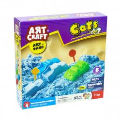 Art Craft Cars Kinetic Sand Set 500gr