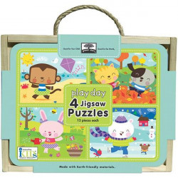 Play Day 4 Jigsaw Puzzles