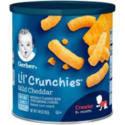 Gerber Lil Crunchies 42g Mild Cheddar