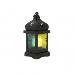 Ramadan Small Fanous Decoration Piece, Black