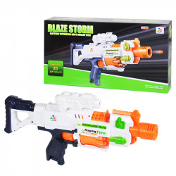 Blaze Storm Battery Operated Gun Toys Soft Bullets