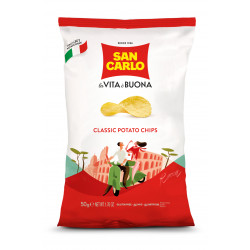 San Carlo Classic Salted Potato Chips 50g