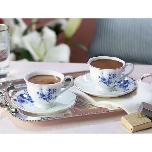 طقم فناجين قهوة  كريتيل مكون من قطعتين من مدام كوكو