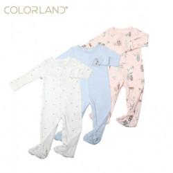 قطع ملابس طويلة الأكمام للأطفال  3 قطع في عبوة واحدة  9-12 أشهر ، من كالور لاند