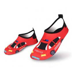 أحذية مائية، تصميم سيارة حمراء، قياس 30-31