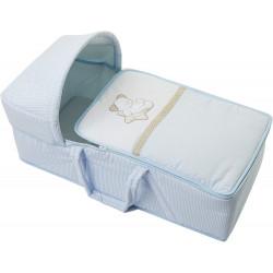 سرير محمول بيبي ترافيل سويت ستارز إيطالبيبي باللون أزرق