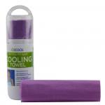 O2COOL ArctiCloth Sport Cooling Towel, Violet