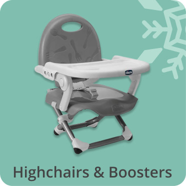 highchairs and boosters